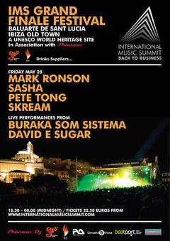 Vania, Victor M si Aeromaschine participa la International Music Summit din Ibiza