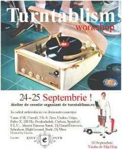 A doua editie a workshop-ului de turntablism