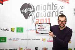 DJ Optick - cel mai bun DJ roman la Nights.ro Awards 2011
