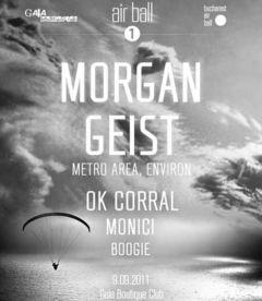 Morgan Geist mixeaza la Air Ball 01 in Bucuresti