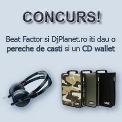Concurs BF - Castiga o pereche de casti si un CD wallet!