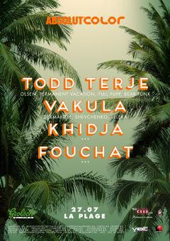 Todd Terje, Vakula, Khidja si Fouchat, pe 27 iulie la Plage Club, in Otopeni