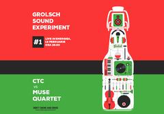 Grolsch Sound Experiment, o noua provocare marca Grolsch si Energiea