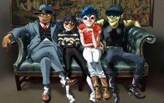 Gorillaz lanseaza un nou album si dezvaluie patru piese online