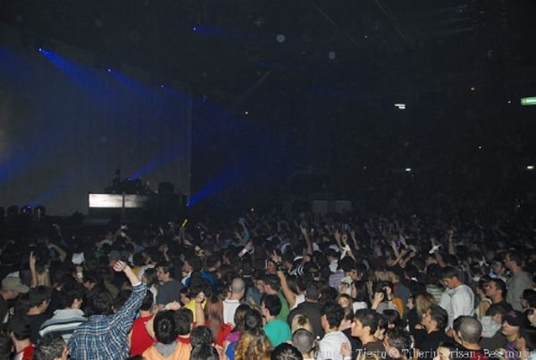 concert tiesto la polivalenta, 2007