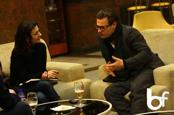 Poze interviu Parov Stelar, Christal Palace