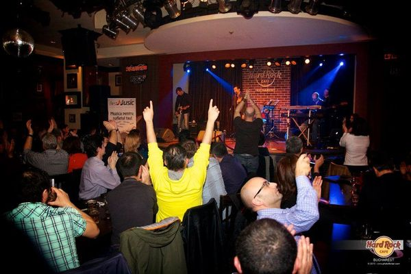 Poze concert Canaf in Hard Rock Cafe