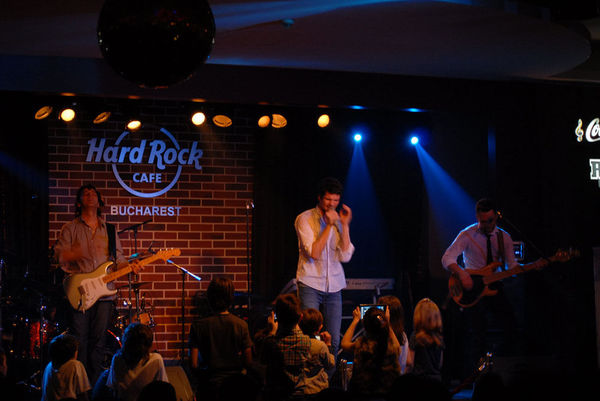 Poze concert Vama in Hard Rock Cafe