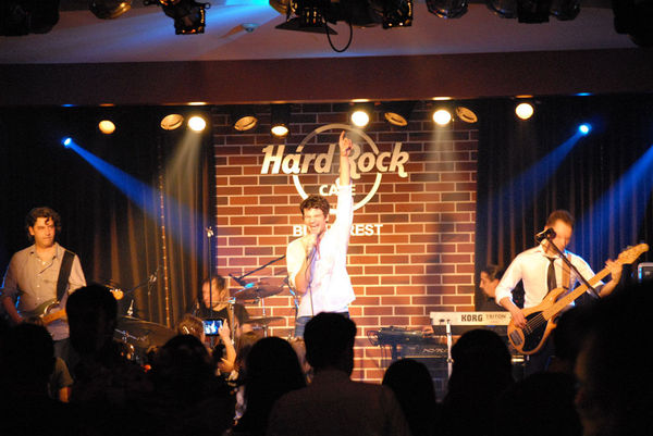 Poze concert Vama in Hard Rock Cafe
