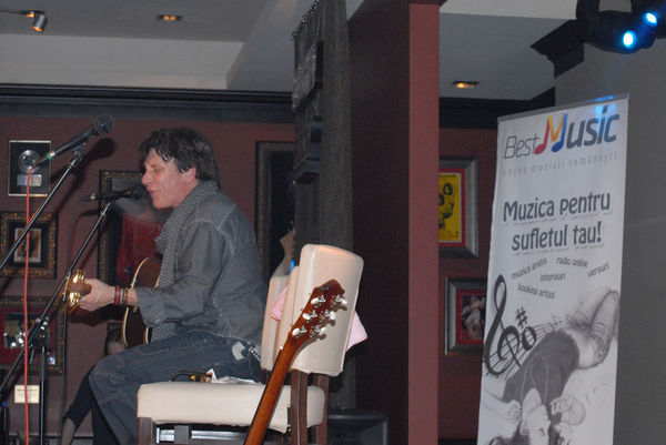 Poze concert Eric Martin in Hard Rock Cafe